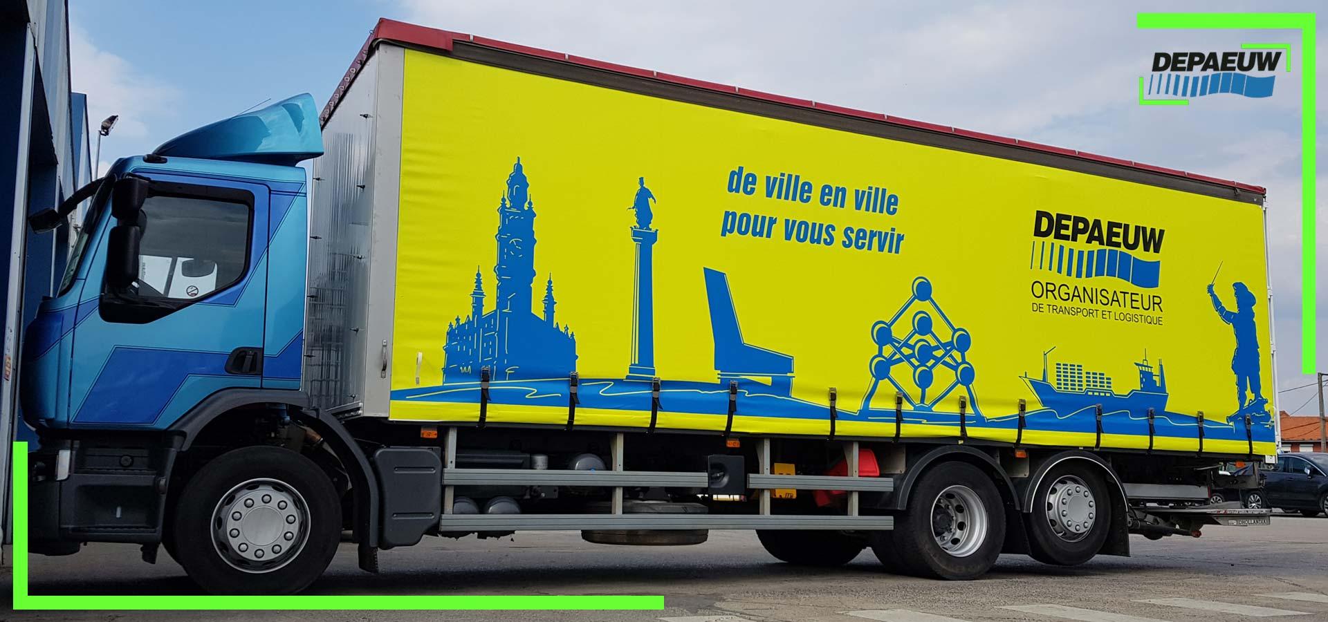 Belgique Renforcement du Plan Transport Distribution