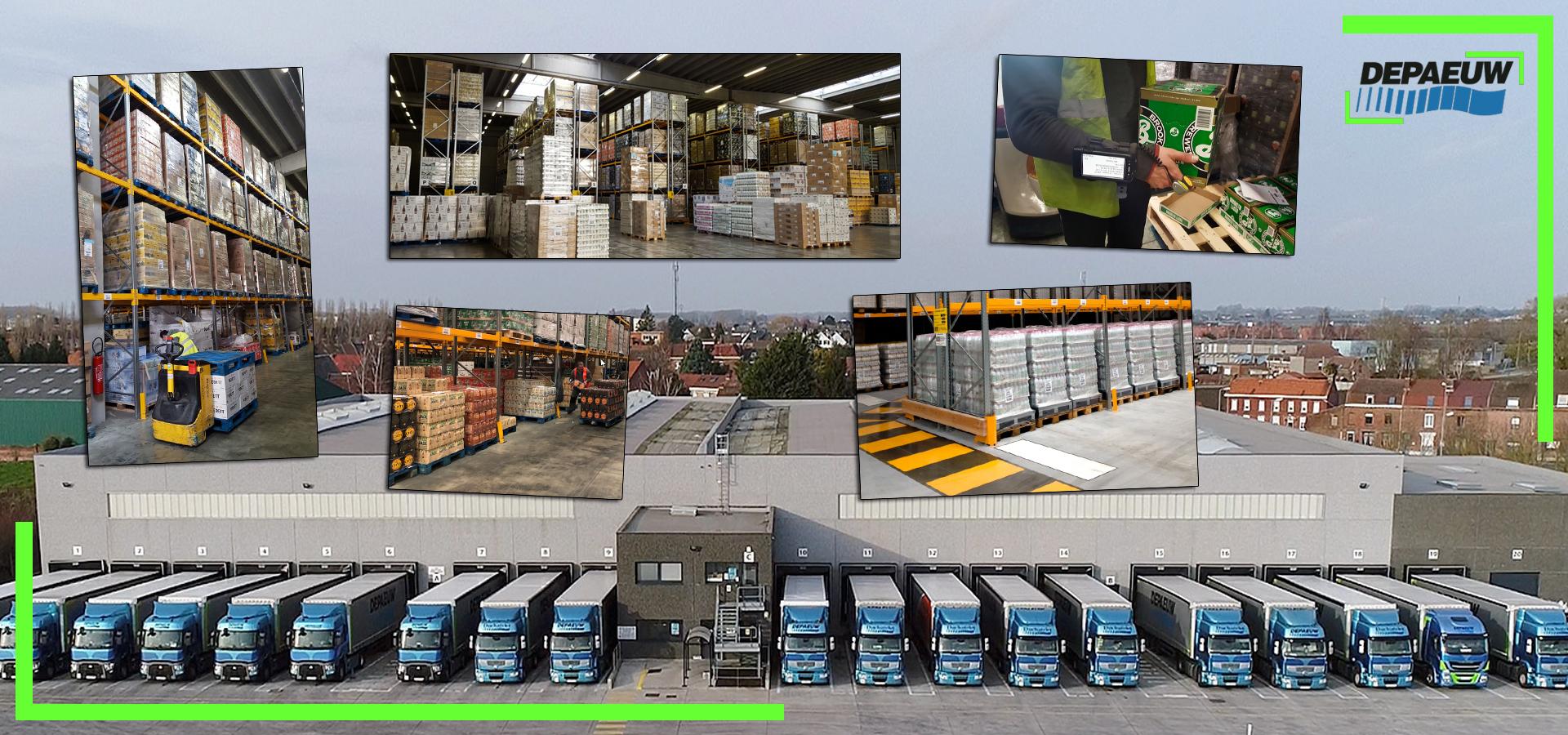 Evolution Activité Logistique Transports DEPAEUW