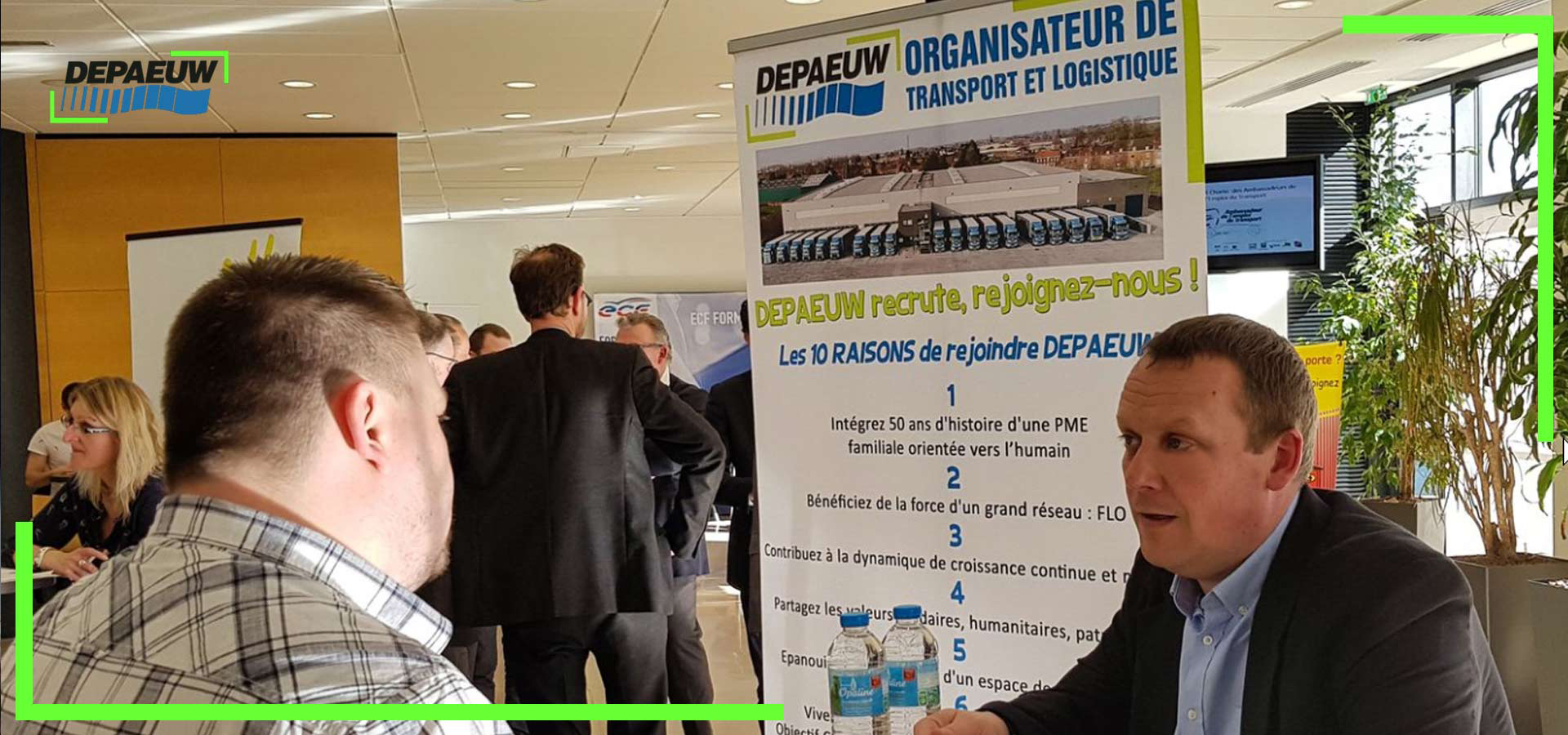 Recrutement : DEPAEUW présent au forum Log and Play 2019