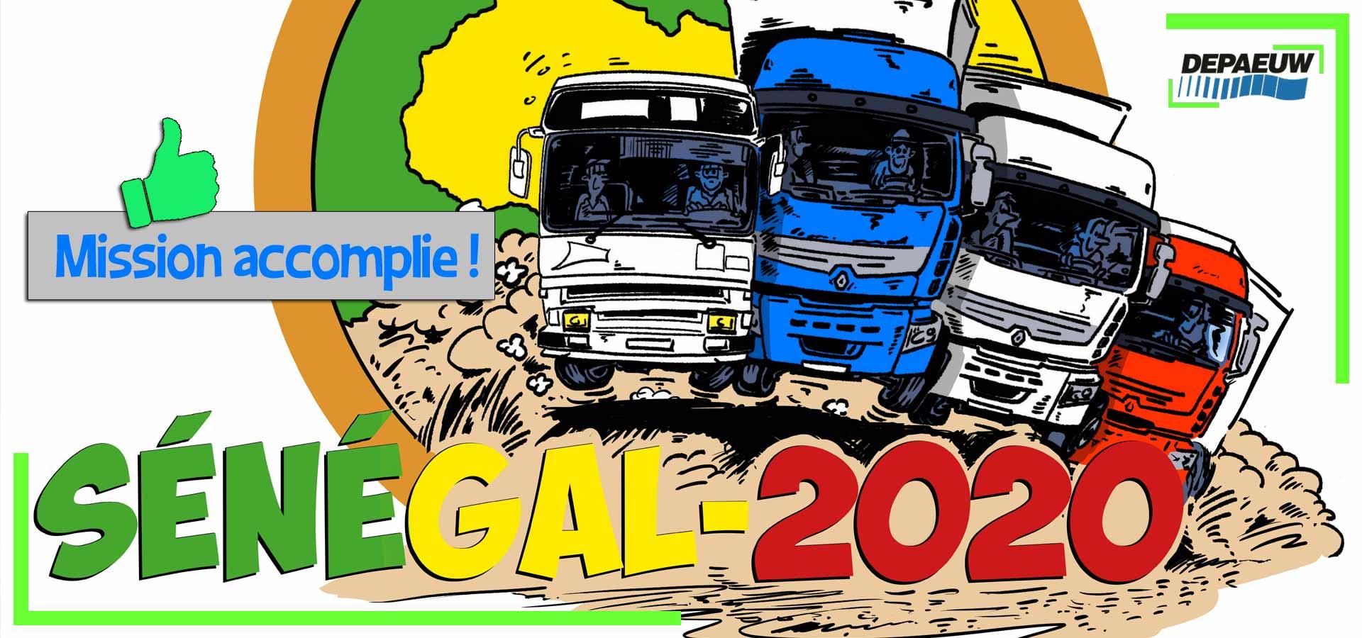 Mission accomplie pour le convoi humanitaire 2020 !