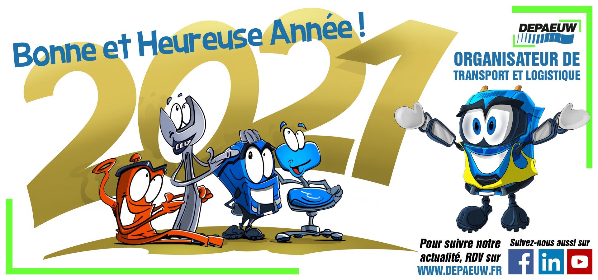 Bonne Année 2021 et Meilleurs Vœux !