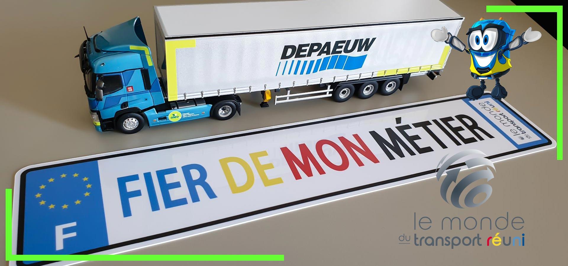 Le monde du Transport Réuni - Fier de mon métier !